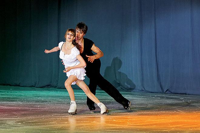 Danse sur glace patinoire Clermont